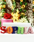 Name Sophia — Stock Photo