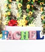 Name Rachel — Stock Photo