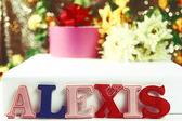 Name Alexis — Stock Photo