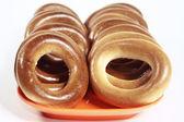 Torkning donut — Stockfoto