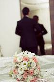 Svatební květiny — Stock fotografie