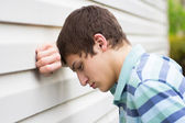 Depressief tiener — Stockfoto