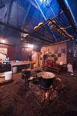 Restaurang i abchazien — Stockfoto