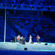 AnnNetrebko Olympics sings anthem — Stock Photo #40483267