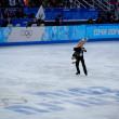 Penny Coomes and Nick Buckland at Sochi 2014 XXII Olympic Winter Games — Stock Photo