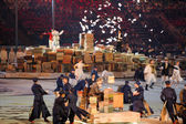 Russian writers at the Closing ceremony of Sochi 2014 XXII Olympic Winter Games. — Stockfoto