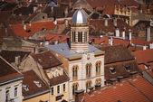 Brasov roofs, Transylvania — Stock Photo