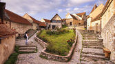 Medieval fortress in Rasnov — Stock Photo