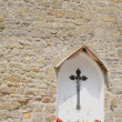 Stock Photo: Holy Cross In Niche
