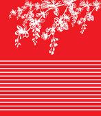 Czerwone linie — Zdjęcie stockowe