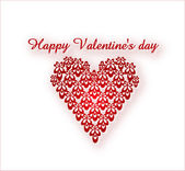Red Happy Valentine's Day — Foto Stock