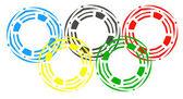 Olympische spelen — Stockfoto