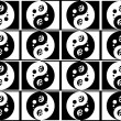 Jing jang pattern — Stock Photo #31537847