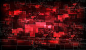 Abstract red polygon background — Stock Photo
