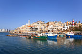 The old port in Jaffa. Tel-Aviv — Stock Photo