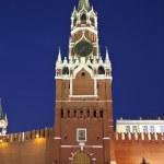 Moscow, the Kremlin, the Nikolskaya tower. Russia — Stock Photo #41015099