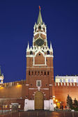Moscow, the Kremlin, the Nikolskaya tower. Russia — Stock Photo