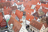 Nördlingen, Germany, Bavaria, view from the top — Stockfoto