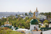 Panorama of Kievo-Pecherskaya. Kiev — Stock Photo