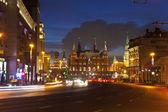 Noční moskva. rusko — Stock fotografie