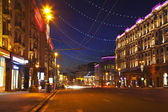 Night Moscow. Russia — Stock Photo
