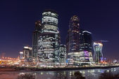 Moscow business center — ストック写真