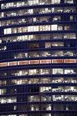 Windows at night — Stock Photo