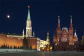 Moscow, the Red square at night. Russia — Stok fotoğraf