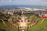 Bahai gardens, haifa, izrael — Zdjęcie stockowe