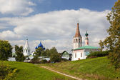 The urban landscape. Suzdal. Russia — Stock Photo