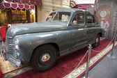 Exhibition of the Soviet retro cars in Moscow — Stok fotoğraf