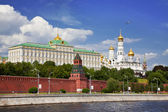 Panorama of the Moscow Kremlin. Russia — Stock Photo