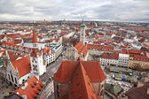 Germany, Munich. The view from the top — Stock Photo
