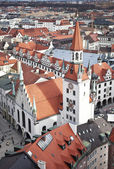 Germany, Munich. The view from the top — Zdjęcie stockowe