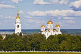 Dormition Cathedral, Vladimir. Panorama — Stock Photo