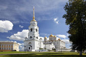Assumption cathedral at Vladimir in summer (Russia) — Stock Photo