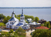 Rostov The Great. The Church of St. Nicholas on Podozerie — Stock Photo