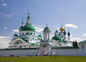 View of theSpaso-Yakovlevski Monastery In Rostov. Russia — Stock Photo