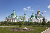 View of the Spaso-yakovlevski Monastery In Rostov. Russia — Stock Photo