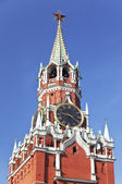 Spasskaya tower of the Moscow Kremlin. Moscow. Russia — Stock Photo