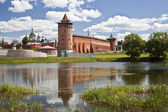 The powerful walls of the Kremlin. Kolomna. Russia — Stock Photo