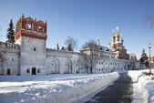 Novodevichy nunnery . Moscow — Stock Photo