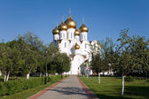 Russia, Dormition Cathedral,Yaroslavl — Stock Photo