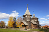 Voskresenskaya wooden Church in Suzdal museum, Russia — Stock Photo