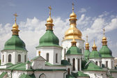 Dome of St. Sophia Cathedral in Kiev. Ukraine — Stock Photo