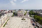 Sofia square. Kiev. Top view — Stock Photo