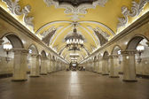 "Station of the Moscow metro ""Komsomolskaya"" — Stock Photo"