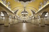 """Station of the Moscow metro """"Komsomolskaya"""" — Zdjęcie stockowe"""