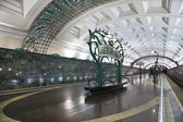 "Station of the Moscow metro station ""Slavic Boulevard"" — Stock Photo"