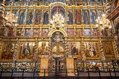 Fresky v kostele Eliáš prorok v Jaroslavli — Stock fotografie